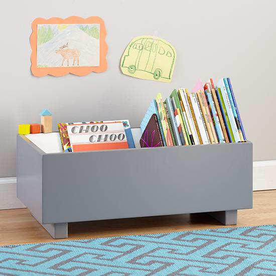 Low Two Shelf Bookcase