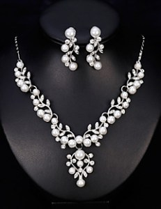 Cheap Wedding Accessories Online   Wedding Accessories for 2018 cheap Wedding Accessories Women  039 s Jewelry Set   Sweet  Fashion Include