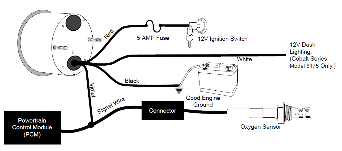 Auto Meter Air Fuel Gauge Wiring Diagram