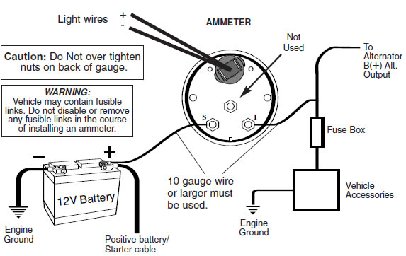 ac voltmeter wiring diagram