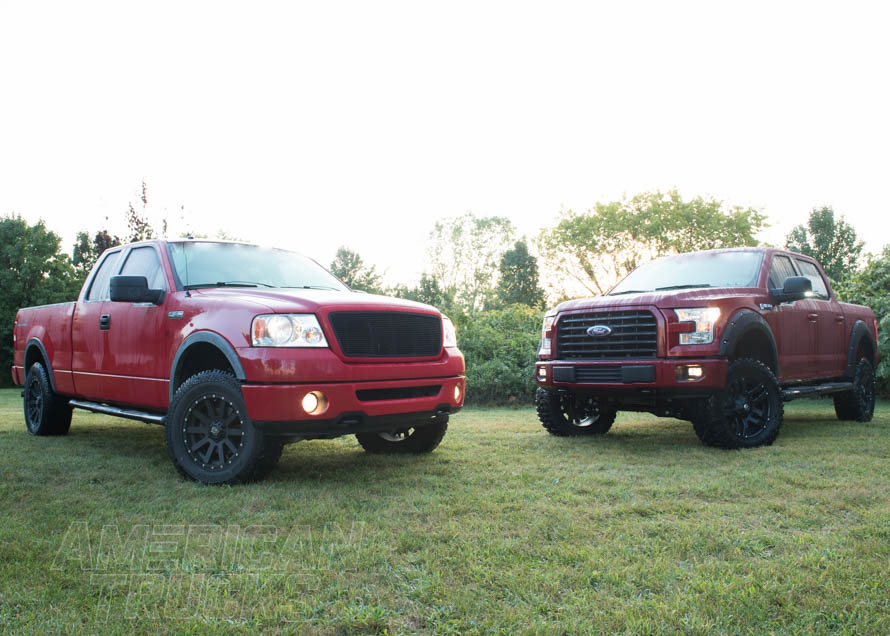 Custom Ford Pickup Trucks