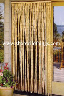 Plain Bamboo Beaded Curtain 90 Strands 35 Quot X 75 78
