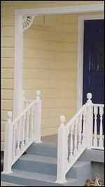 Newel Posts Decorative Wooden Additions To Your Front Porch | Installing Newel Post And Spindles | Stair Parts | Staircase | Stair Banister | Iron Stair | Wrought Iron Spindles