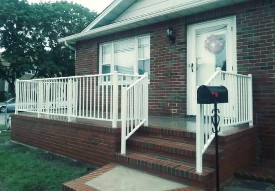 Outdoor Aluminum Railings Handrails Liberty Fence Railing | Aluminum Railings For Steps | Verandah | Glass Railing | Pipe | Indoor | Glass Panel Wooden Handrail