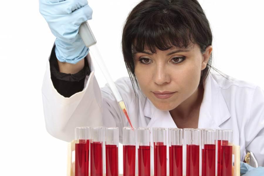 Tests sanguins sur la syphilis