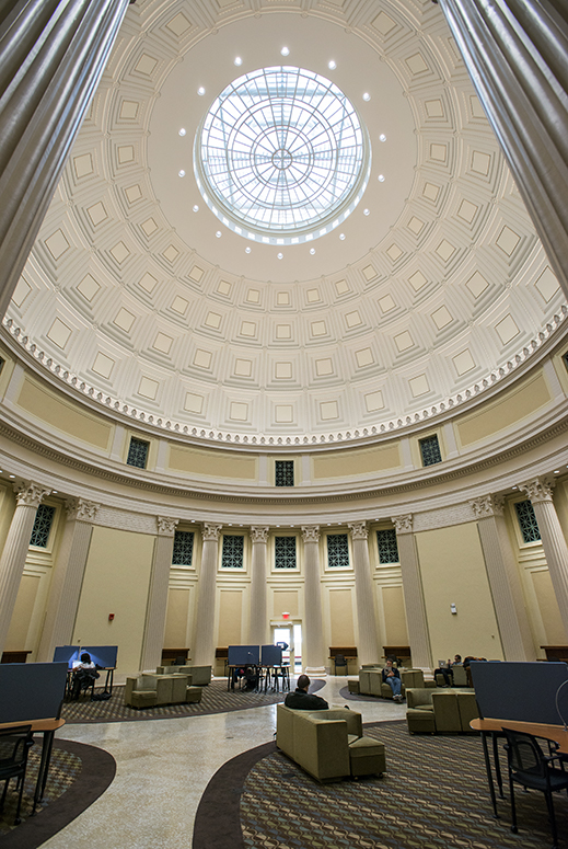 Study Under The Dome 24 7 Barker Reading Room Reopens As