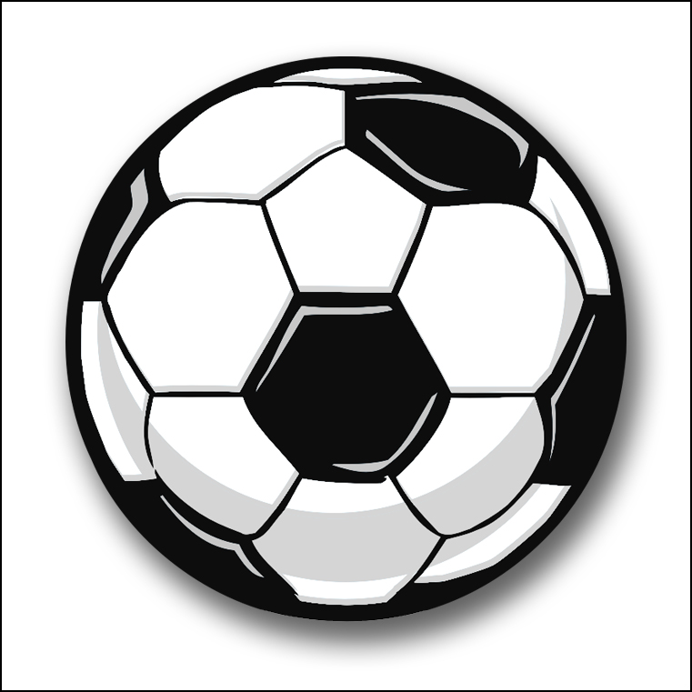 soccer cliparts - 761×761