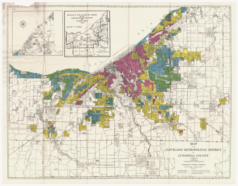 Redlining Maps   Maps   Geospatial Data   Research Guides at Ohio         1940 map