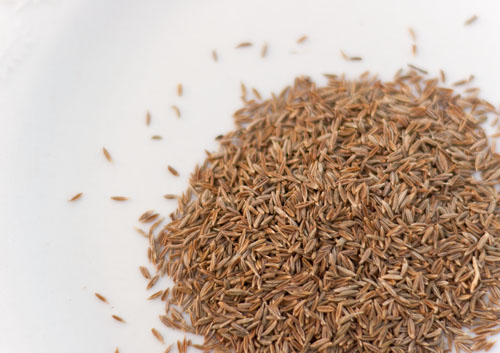 Homemade Chile Powder cumin seeds