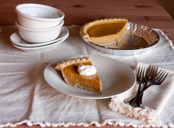 This is the Best Pumpkin Pie Life Currents thanksgiving fall autumn dessert traditional