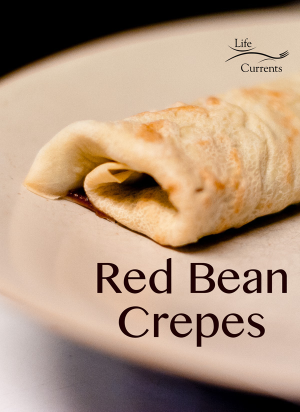 Red Bean Crepes