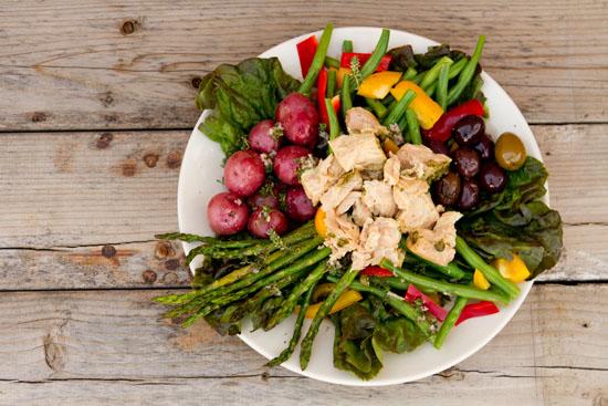 Island Trollers Albacore Tuna Niçoise Salad Life Currents #albacore #tuna #salad healthy light yummy French