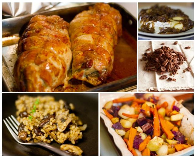 Thanksgiving menu 2012 | Life Currents
