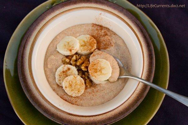 Vanilla Breakfast Pudding