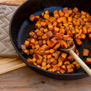 Roasted Sweet Potatoes | Life Currents https://LifeCurrents.dw2.net