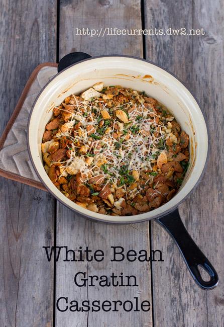 White Bean Gratin Casserole | Life Currents