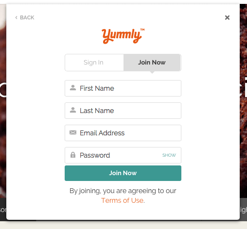 How to Use Yummly: a tutorial on how to sign up and add recipes to Yummly