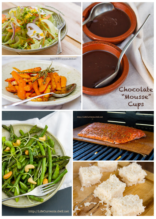 Paleo-friendly collection of Life Currents' recipes