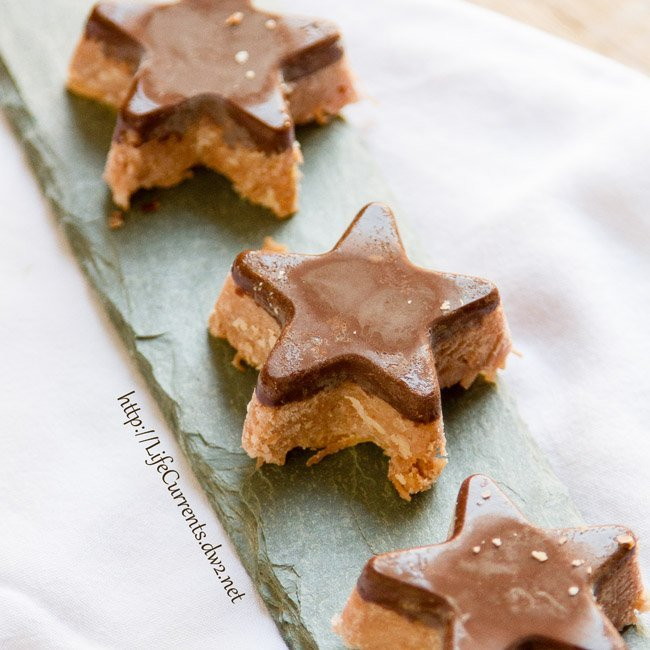 Coconut Bars featured recipe for Chocolate Covered Coconut Stars