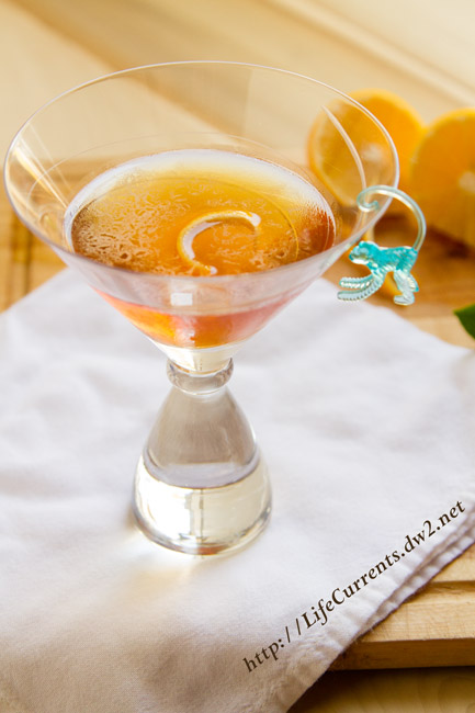 Cherry Scotch Sipper featured recipe for The Rob Roy: A Classic Cocktail by Life Currents