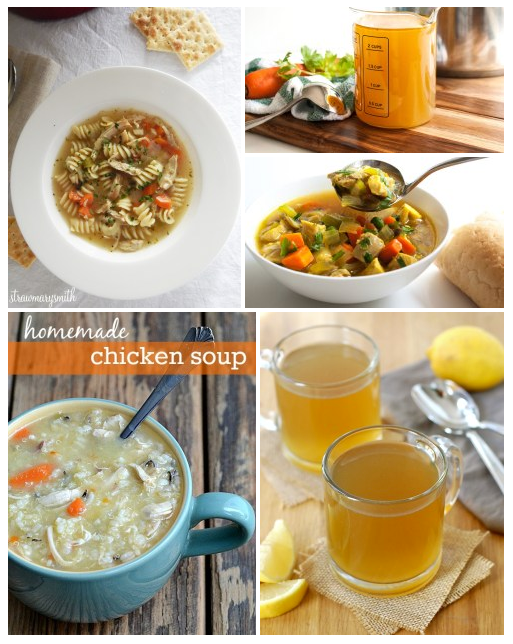 Cold & Flu Busting Help: Chicken Soups and Broths by Life Currents