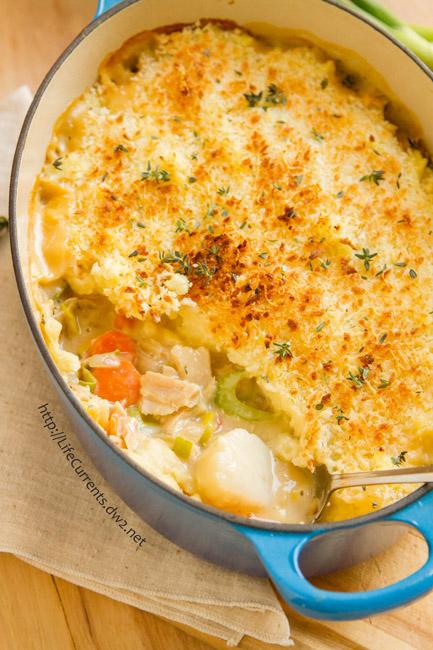 Seafood Shepherd's Pie or Fisherman's Pie https://lifecurrentsblog.com