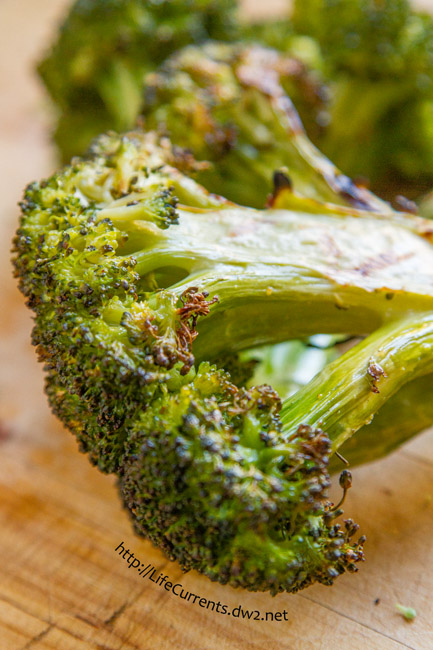 Grilled Garlicky Broccoli by Life Currents is a great easy side dish that you'll just adore!