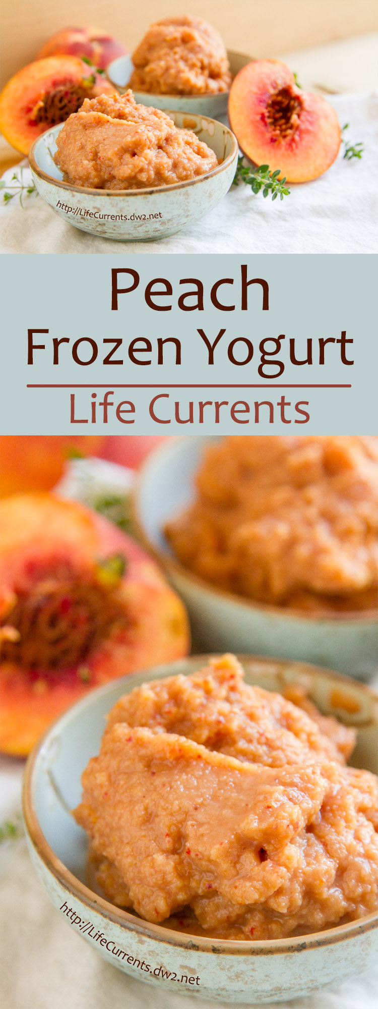 When you turn those beautiful sweet summer peaches into this fabulous treat, everyone (including the kids!) will want some! Try my Peach Frozen Yogurt for breakfast or dessert!