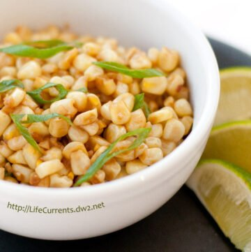 Caribbean Corn is a great tropical twist on a fun side dish!