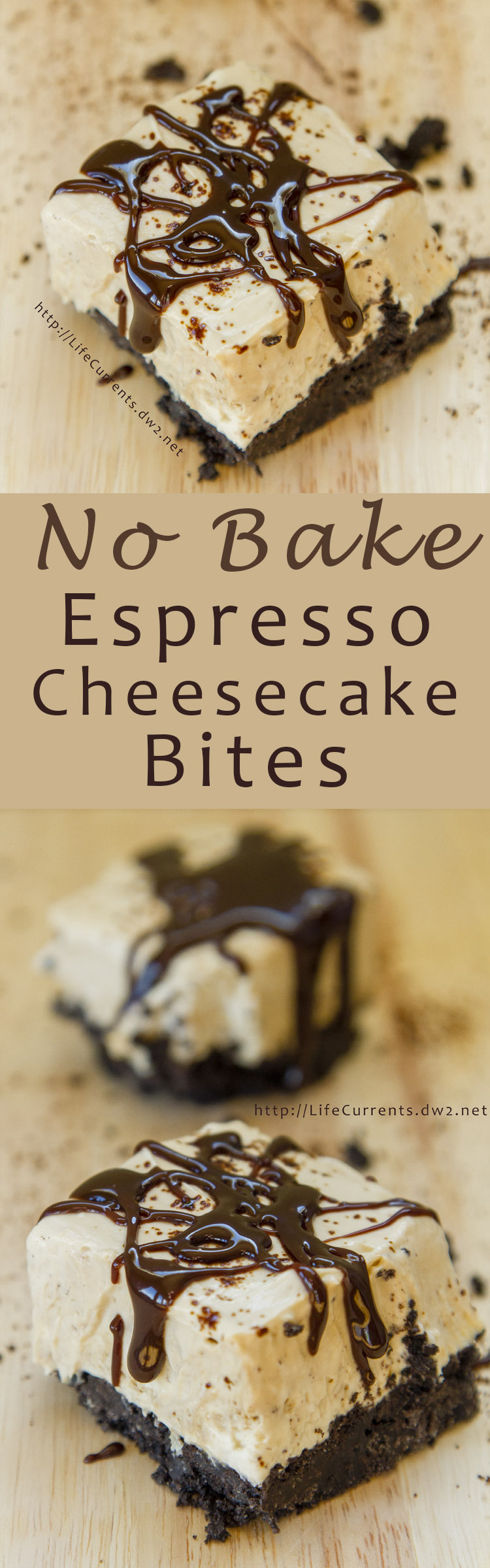 No Bake Espresso Cheesecake Bites are so easy to make, and amazingly delicious! Make them today!