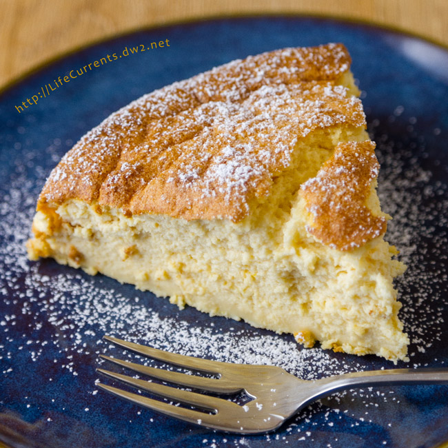 Mother's Day Desserts - Lemon Soufflé Cheesecake - Birthday Dessert recipe