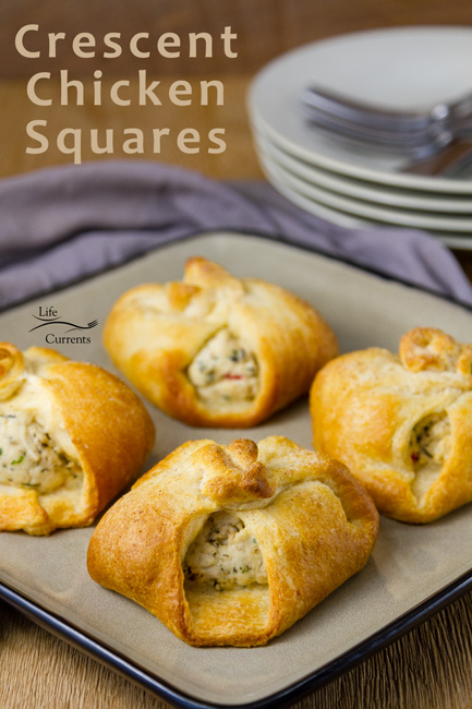 Crescent Chicken Squares - a delicious recipe that my mom made when I was a kid!