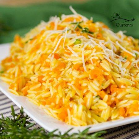 Cheesy One Pot Carrot Orzo Side Dish Recipe