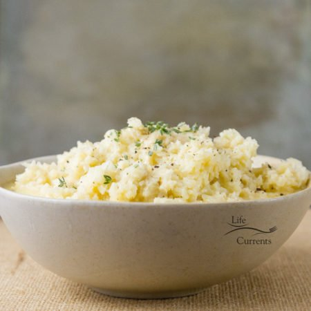 Garlic Parmesan Cauliflower the perfect side dish for any occasion, a weeknight meal; a family holiday meal