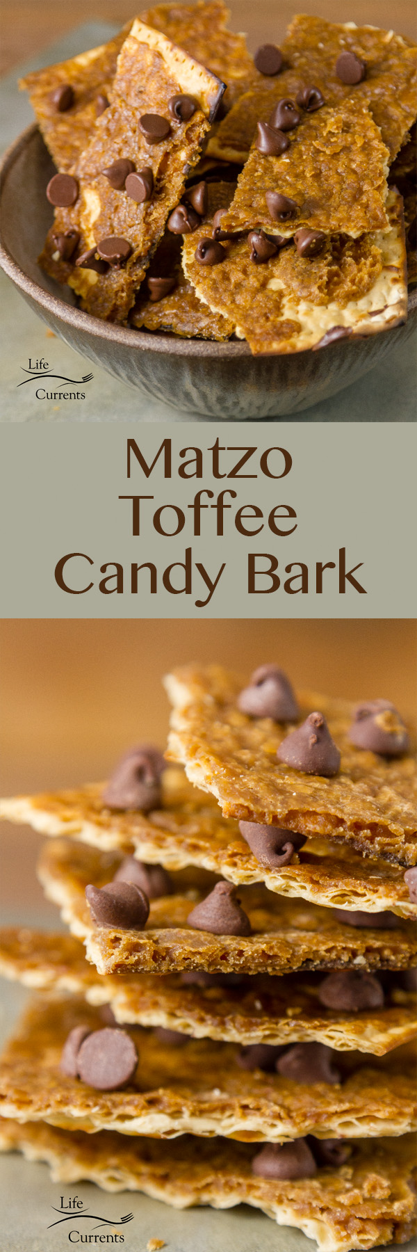 Matzo Toffee Candy Bark - a delicious holiday dessert treat that you can't stop eating