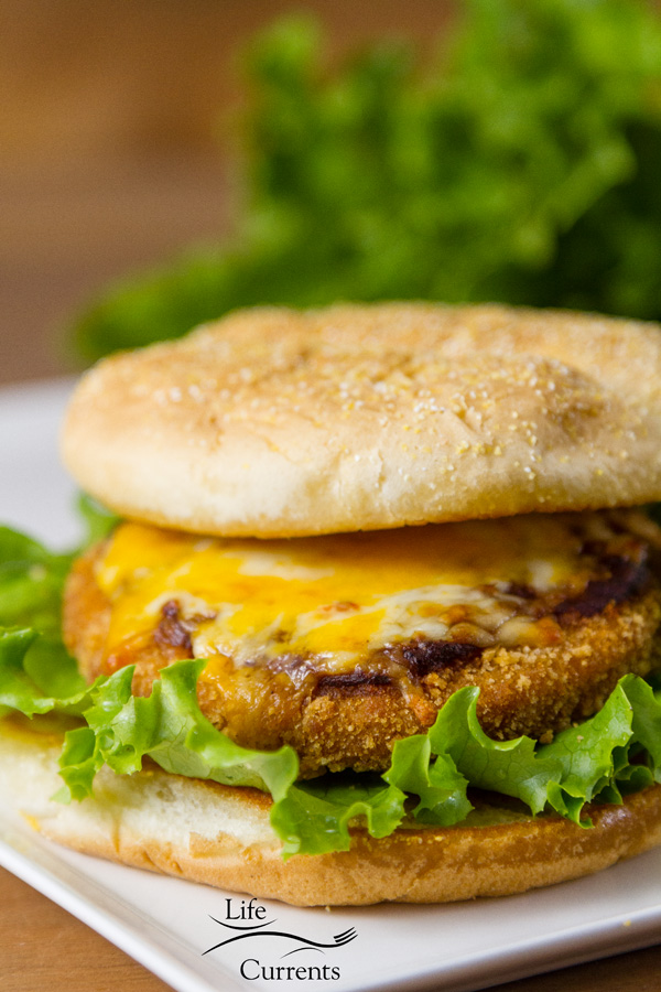 Mexican Chicken Tenders - Use the larger chicken patties to make burger-like sandwiches that will be a main dish hit at a football watching party.