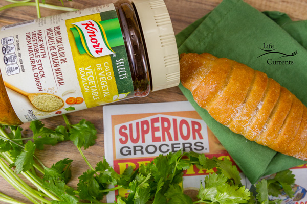 Creamy Verde Fiesta Enchiladas - Knorr and a fabulous time shopping in Superior Grocers