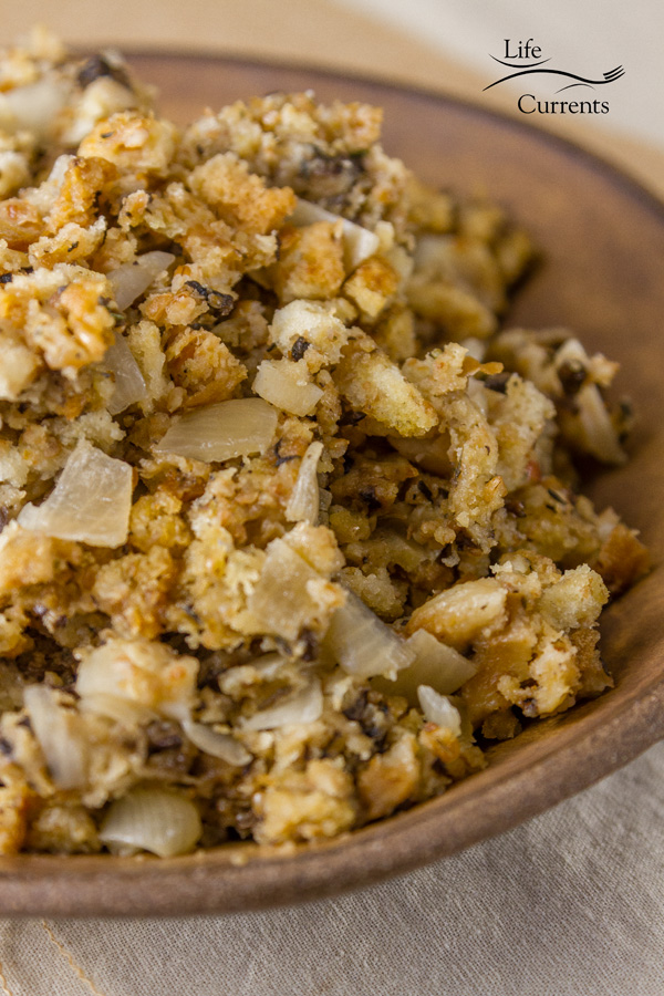 delicious and easy to make Vegetarian Crock Pot Stuffing Recipe is perfect for all your holiday meals