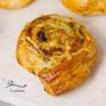 Pesto Puff Pastry Pinwheels with Sun Dried Tomatoes and Roasted Red Peppers Recipe easy appetizer