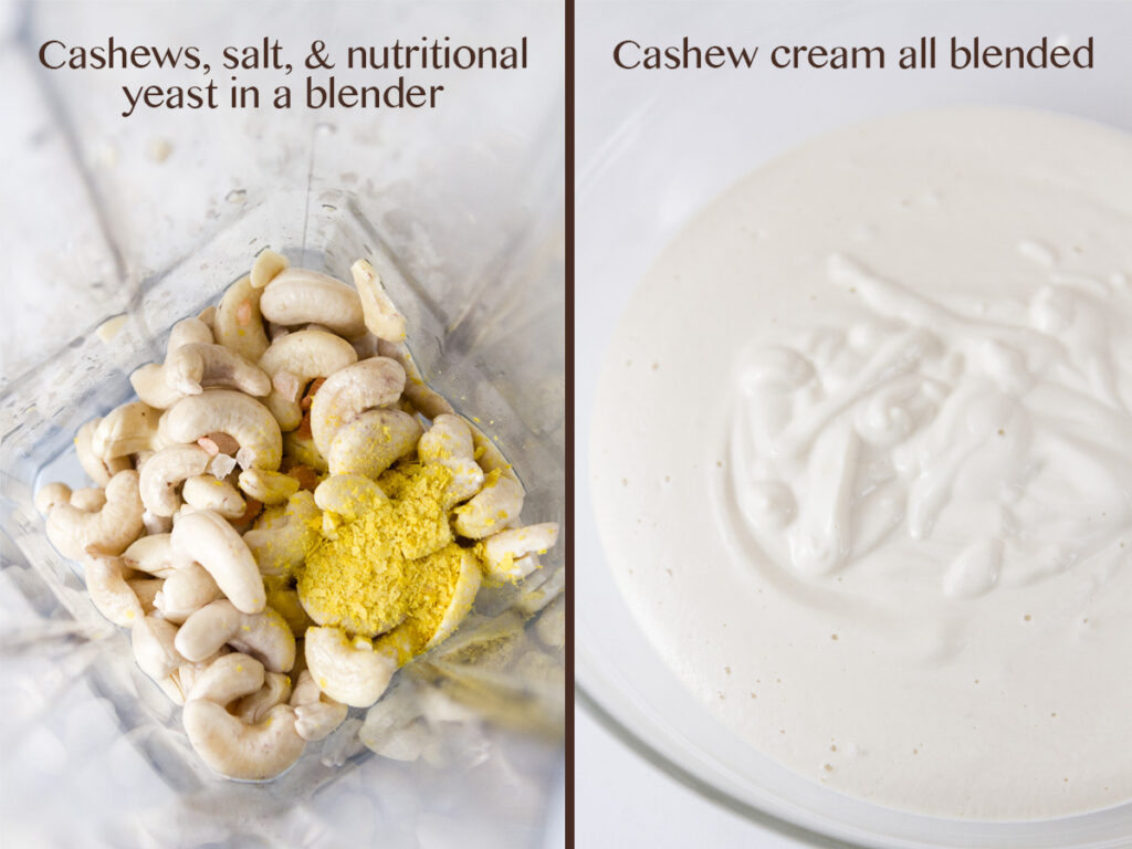 how to make cashew cream