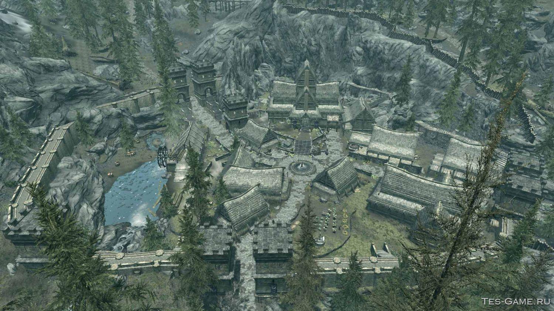 Wo kann ich ein Haus in Skyrim bauen?