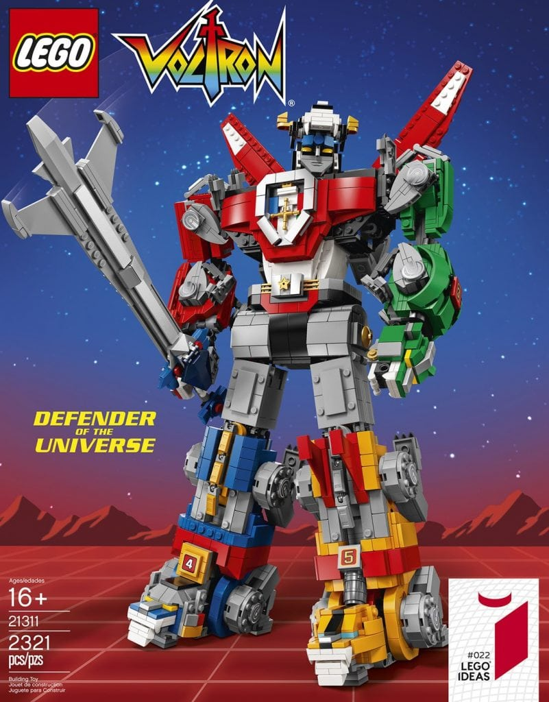 Lego Ideas Voltron Announced
