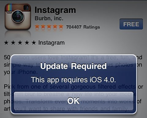 Instagram updated  No longer old iPhone friendly   Life In LoFi Instagram updated  No longer old iPhone friendly
