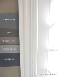 Master Bedroom Paint  Behr Atmospheric  Which to Pick    Life on     Behr Atmospheric  Behr Pier  Behr Fashion Gray  Behr Classic Silver  Behr  Antique