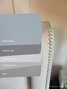 Master Bedroom Paint  Behr Atmospheric  Which to Pick    Life on     Side by side comparison of Behr Atmospheric  Behr Pier  Behr Fashion Gray