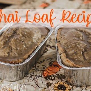 Chai Loaf Recipe - Fall Bread