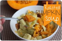 roasted pumpkin soup recipe