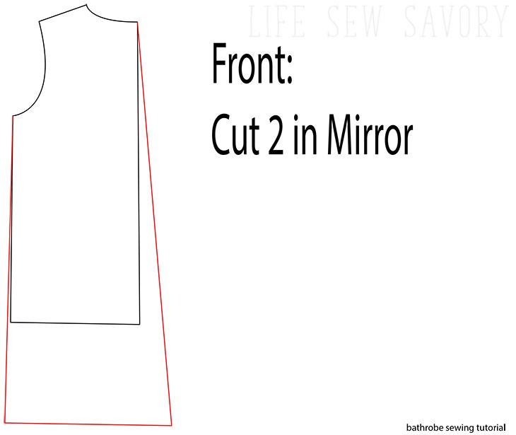 robe pattern tutorial