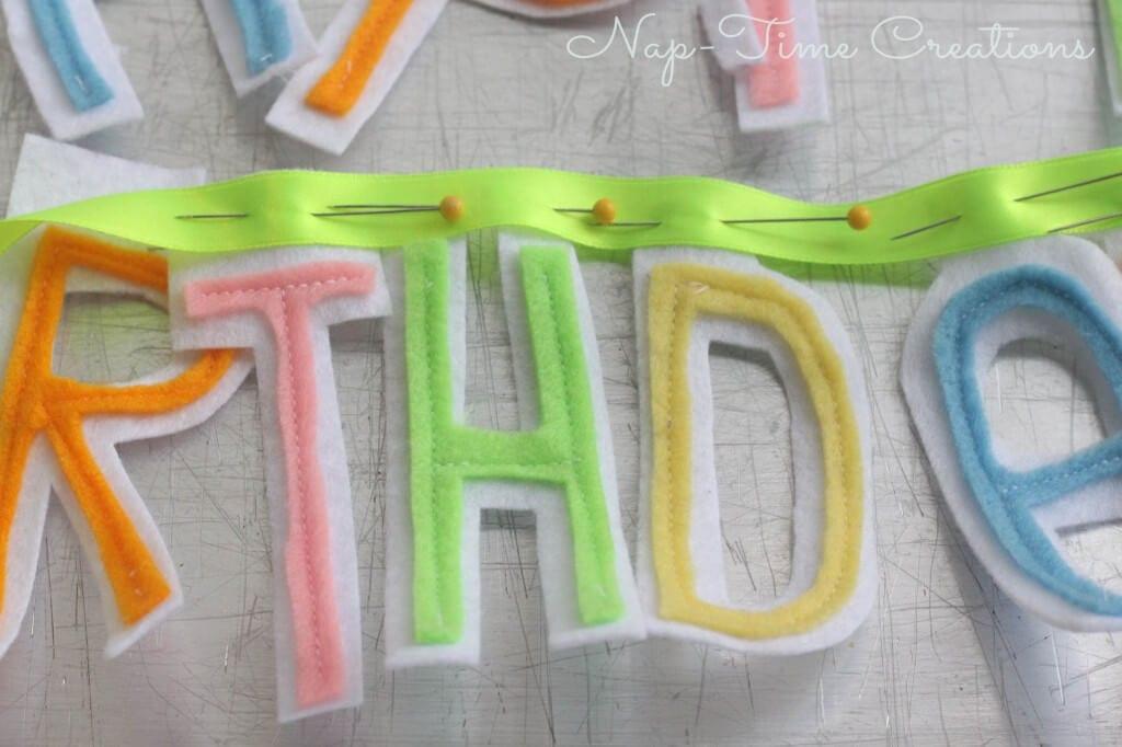 DIY Happy Birthday Banner2