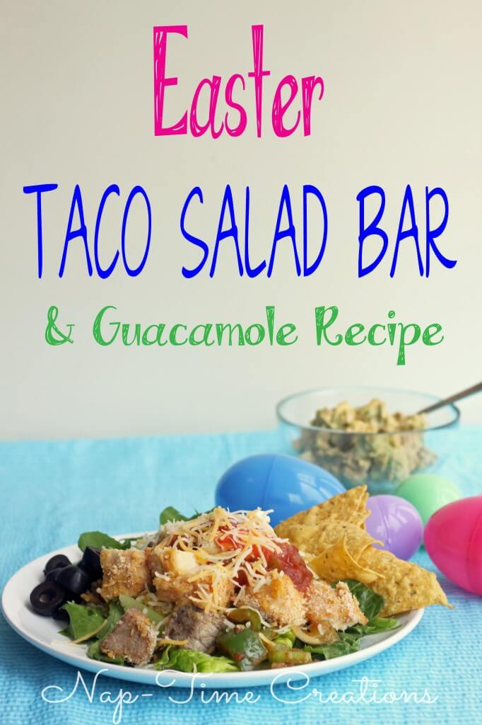 Taco Salad Bar- Make everyone happy with this easy meal